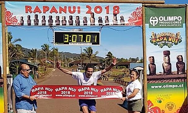 Marathon Ile de Pâques