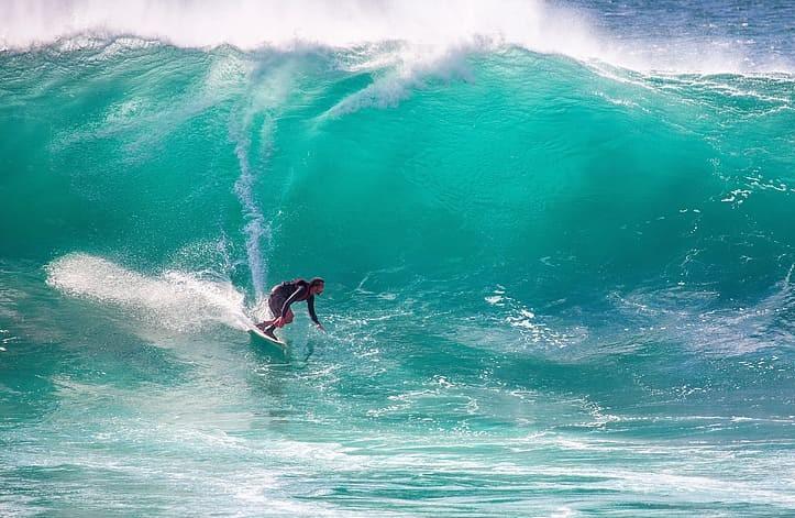 Ile de Pâques surf