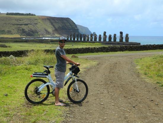 Vtt ou vélo Ile de Pâques